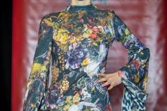 Sara Leupold bei der Secret Fashion Show Kleid Marei