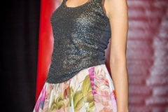Sara Leupold bei der Secret Fashion Show, Rock Floralis