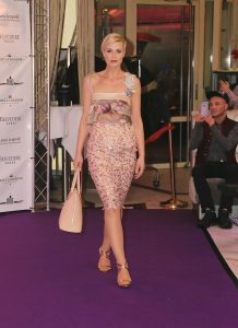 Sara Leupold Kollektion Top Floralis und Rock Lace