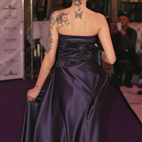 Sara Leupold Kollektion Abendkleid Violetta