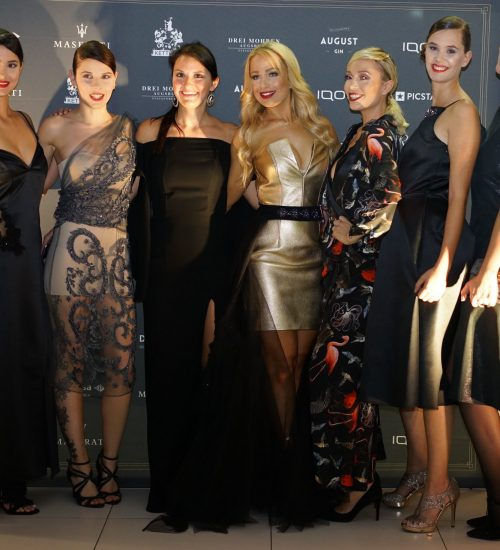 Sara Leupold Couture H/W 2018 Gruppenfoto Maserati Event Oktober 2018