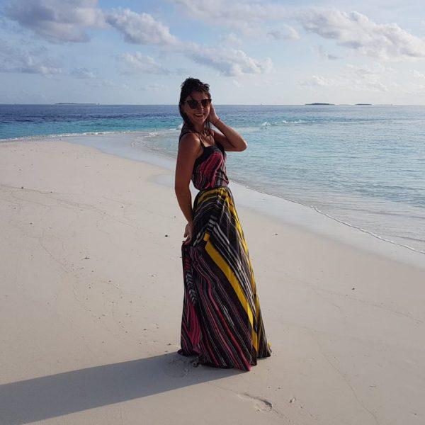 Tellerrock und Top Stripe Sara Leupold Couture